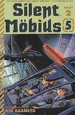 Silent Möbius Part 2 #5 VF/NM; Viz   save on shipping - details inside