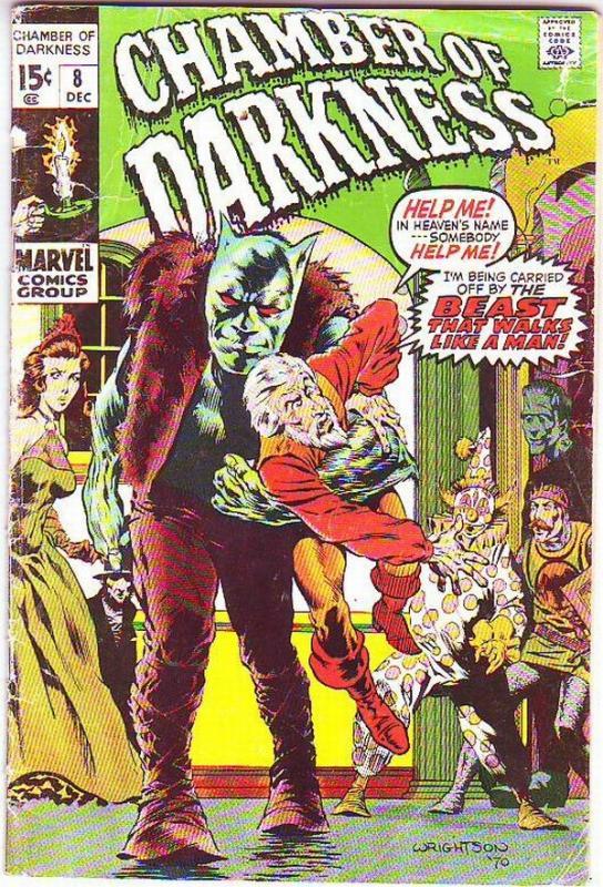Chamber of Darkness #8 (Dec-70) VG High-Grade