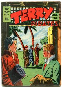Terry and the Pirates- Dell Four Color Comics #44 1944 VG/F