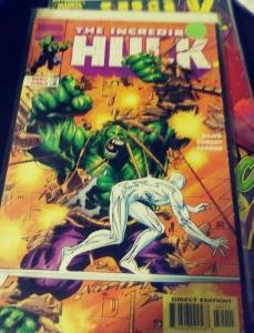 Incredible Hulk  # 464 MAY 1998, Marve TROYGENS ARMAGEDDON SILVER SURFER