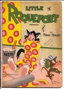 Little Roquefort #4 1952-St John-wacky funny animals-FR