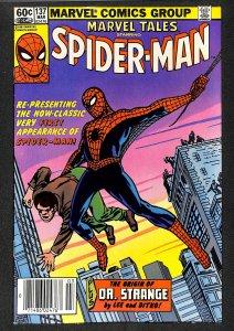 Marvel Tales #137 FN+ 6.5 Amazing Fantasy #15 Spider-Man Reprint! Comics