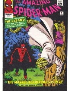 AMAZING SPIDER-MAN #6, VF+, Reprint, Lizard, 2006, Peter Parker, Marvel, B