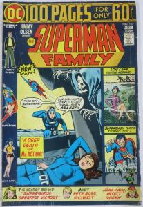 SUPERMAN FAMILY  #167 (DC) November, 1974 VERY GOOD minus (VG-) 100 page giant