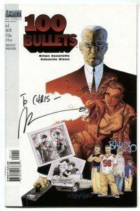 100 Bullets #1 1999- Signe by Brian Azzarello NM-