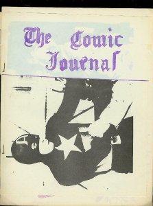 COMIC JOURNAL-FANZINE-MARVEL-ATLAS-PAUL GAMBACCINI-1966 VG/FN