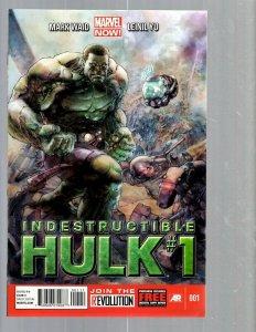 12 Comics Indestructible Hulk #1 2 Incredible Hulk #1 2 3 4 5 6 7 7.1 8 9 J448