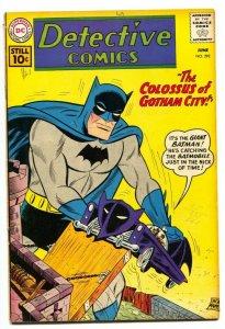 DETECTIVE COMICS #292 BATMAN DC SILVER-AGE 1961 VG
