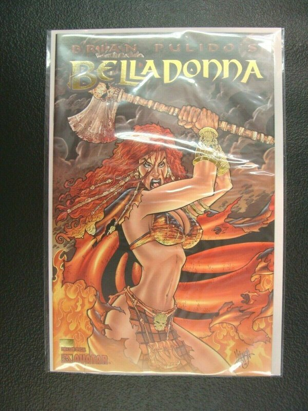 Belladonna # 1 Convention Special Exclusive Gold Foil Variant Cover Edition NM