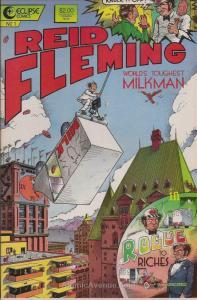 Reid Fleming, World's Toughest Milkman #1 VG; Eclipse   low grade comic - save o