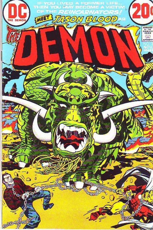 Demon, The #3 (Nov-72) NM- High-Grade Jason Blood, Merlin