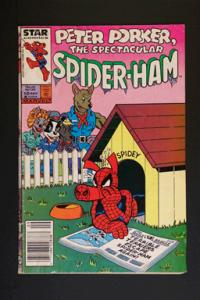 Peter Porker Spectacular Spider-Ham #10 September 1986