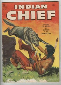Indian Chief # 7 Strict FN Mid-Grade Cover Painted, White Eagle listed now