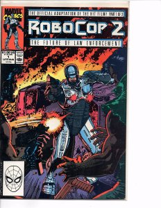 Marvel Comics RoboCop 2 #1 Jim Lee Cover Art Mark Bagley Art