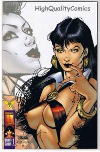 VAMPIRELLA #7, VF+, Shi, Vampire, Femme Fatale, 1997, more in store