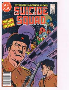 Suicide Squad # 5 VF DC Comic Book Copper Age Movie Series Deadshot Harley Q BN9