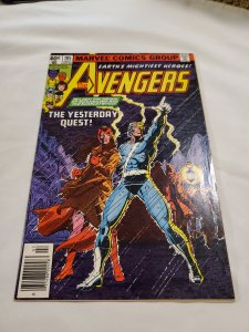 Avengers 185 Very Fine Cover by George Perez and Terry Austin