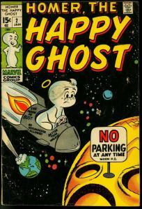 HOMER THE HAPPY GHOST #3 1970 MARVEL DAN DECARLO ART G-