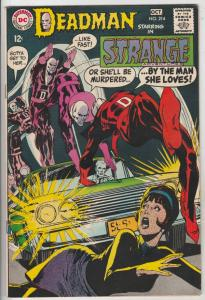 Strange Adventures #214 (Oct-68) VF/NM High-Grade Deadman