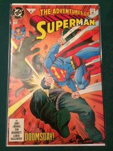 The Adventures of Superman #497 DOOMSDAY!