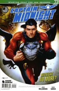 Captain Midnight (2nd Series) #12 VF/NM; Dark Horse | save on shipping - details