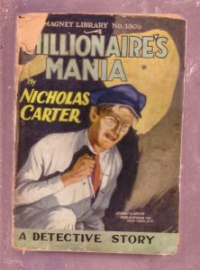 NEW MAGNET LIBRARY-#1306-MILLIONAIRES MANIA-NICK CARTER FR