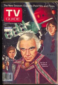 TV Guide 5/18/1978-Battlestar Galactica-Tampa Bay Edition-VG