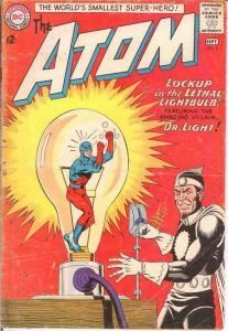 ATOM 8 FR+  September 1963 JLA X OVER COMICS BOOK