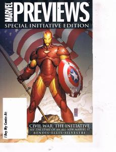 Marvel Previews Special Initiative Editiona Avengers: The Initiative # 1 NM TW27
