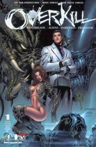 Overkill: Witchblade / Aliens / Darkness / Predator #1, NM (Stock photo)