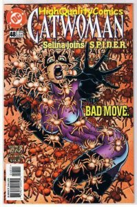 CATWOMAN #48, NM+, Jim Balent, Spiders, Femme Fatale, 1993, more in store