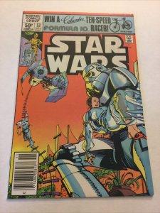 Star Wars 53 Vf Very Fine 8.0 Newsstand Edition Marvel Comics