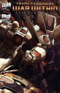 Transformers: War Within: The Dark Ages #1B VF/NM; Dreamwave   save on shipping