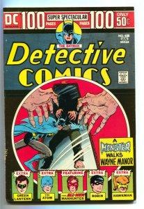 DETECTIVE COMICS #438-100 PG-BATMAN/ROBIN/GREEN LANTERN VF-