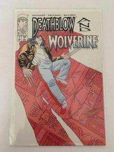 Death Blow & Wolverine #1 Image  Comics NM