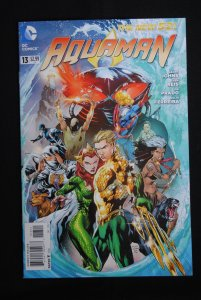 Aquaman, #13 NM, Geoff Johns, Ivan Reis, Joe Prado