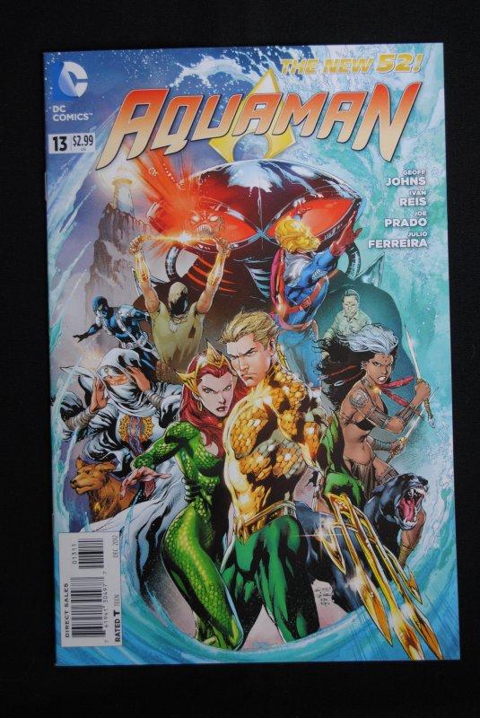 Aquaman, #13 NM, Geoff Johns, Ivan Reis, Joe Prado