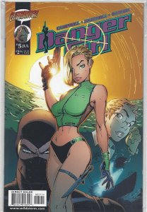 Danger Girl #5 near mint condition