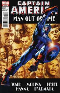 Captain America: Man Out of Time #3 VF/NM; Marvel | save on shipping - details i