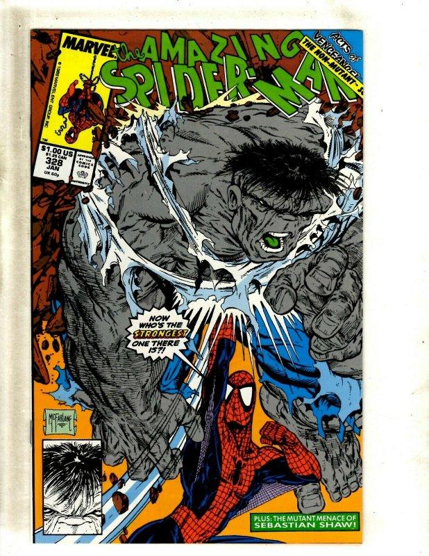 Amazing Spider-Man # 328 NM Marvel Comic Book McFarlane Venom Goblin Gwen BJ1
