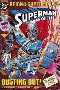 Superman: The Man of Steel #22, VF+ (Stock photo)