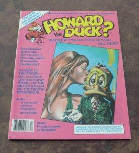 Howard The Duck #2 VG/FN 1979 Marvel Magazine Howard's Love Muffin Battles Evil
