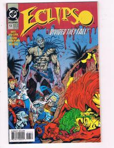 Eclipso #13 VF DC Comics Comic Book Fleming Nov 1993 DE23