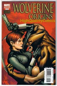 WOLVERINE : ORIGINS 9, NM-, Way, Variant, Black Widow, 2006, more in store