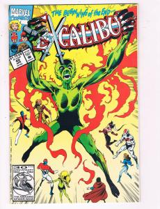 Excalibur #49 VF Marvel Comics Comic Book April 1989 DE23