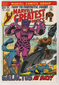 Marvel's Greatest Comics #36 (Jul-72) NM/NM- High-Grade Fantastic Four, Mr. F...