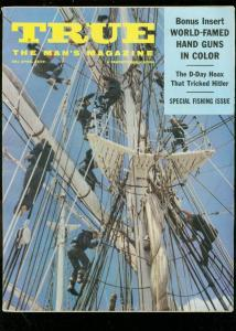 TRUE MAGAZINE APRIL 1959-MALCOLM CAMPBELL-ALF DEAN VG
