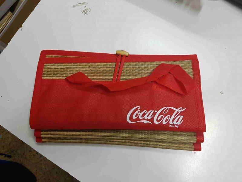 Esterilla playa de Coca Cola