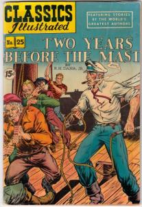 Classics Illustrated #25 (Jul-51) VG/FN Mid-Grade