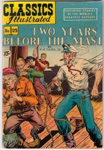 Classics Illustrated #25 (Jul-51) VG/FN Mid-Grade